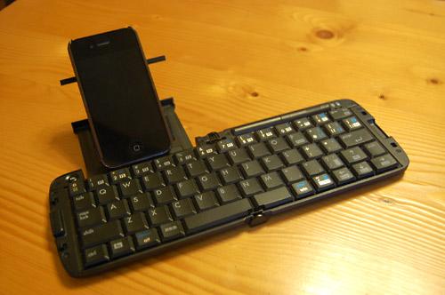 リュウドのキーボード&iPhone
